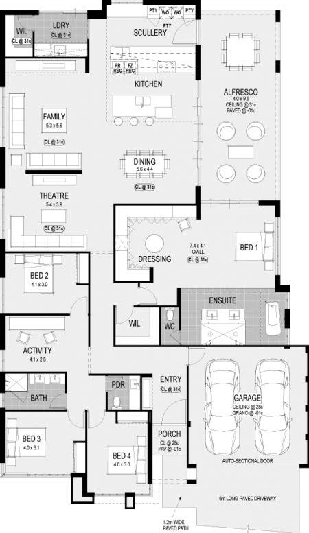 floorplan   atlanta platinum   display home  hgwa hgwaliving floor