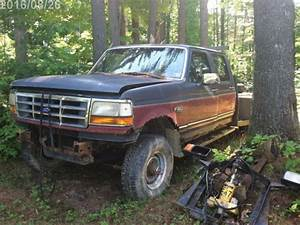 2 Identical 1993 Ford F350 Xlt Crew Cabs Dually 4x4 6x6