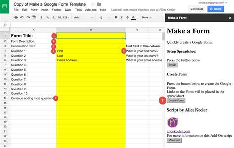 alices quick     google form teacher tech