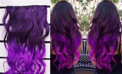 aplique tic tac colorido cm ombre hair roxo tipo
