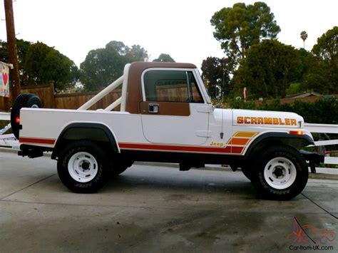 cj8 jeep 1984 jeep cj8 scrambler loraido package full restoration