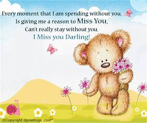 Miss You Cards | Everyday Miss You Greeting Cards | Free ...