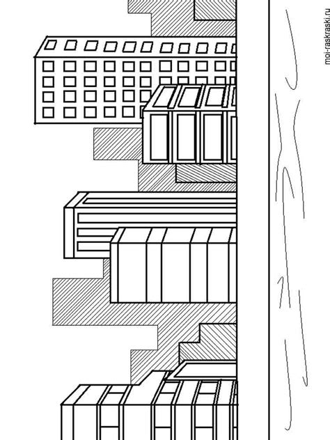 city coloring pages   print city coloring pages