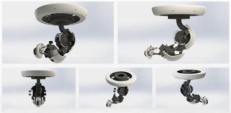 printable glados robotic arm ceiling lamp dthursday
