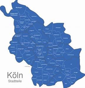 Köln Plz Karte : k ln stadtteile interaktive landkarte image ~ Eleganceandgraceweddings.com Haus und Dekorationen