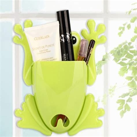 porte brosse 224 dent mural support grenouille enfant plastique toothbrush holder ebay