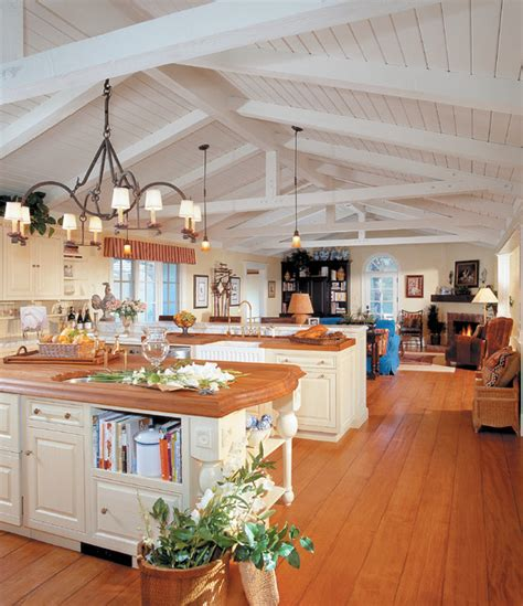 country kitchen santa country meets montecito ranch traditional 6138