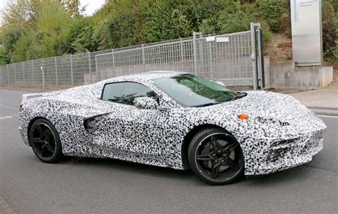 Mid-engined 'zora' Corvette Spotted Again
