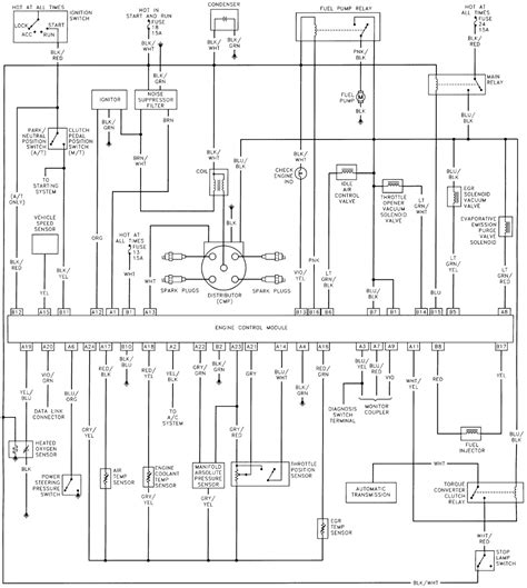 Tracer Wiring Schematics For The Fuel Injector Geo