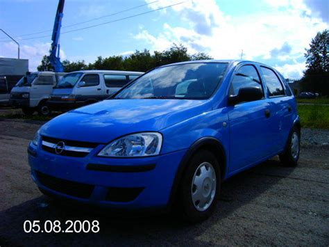 vauxhall corsa 2004 2004 opel corsa photos 1 2 gasoline ff manual for sale