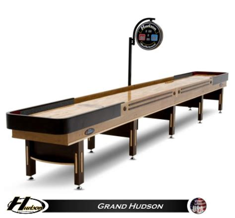 used 22 foot shuffleboard table for sale 18 39 grand hudson shuffleboard table