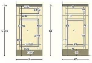 Standard Kitchen Cabinet Drawer Depth by Typical Cabinet Door Dimensions Best Home Decoration