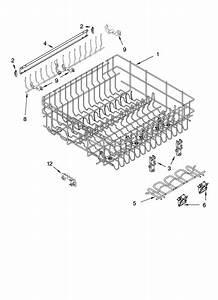Whirlpool Gu2300xtlq0 Dishwasher Parts