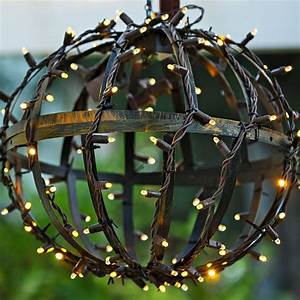 Lowes Led Globe Lights Make Festive Globe Lights To Hang From A Pergola By