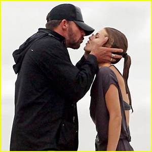 AnnaLynne McCord: Birthday Kiss from Dominic Purcell ...
