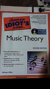 The Complete Idiots Guide To Music Theory   Cd