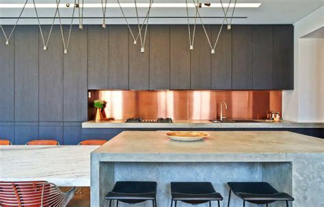 Impeccably Detailed Home With Metallic Touches   DigsDigs