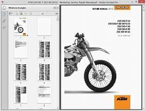 Ktm 250 Exc-f Xcf-w  2015  - Service Manual