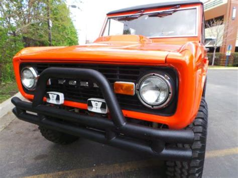 electric power steering 1985 ford bronco on board diagnostic system buy used 1966 ford bronco new 351 engine power steering brakes fiberglass tub automatic in