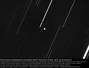Potentially Hazardous Asteroid (4179) Toutatis close ...