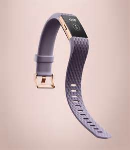 Lavender Rose Gold 2 Charge Fitbit