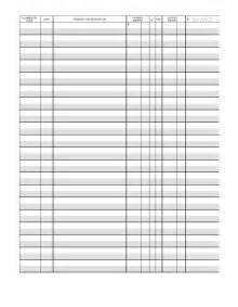 Free Printable Checkbook Register Templates