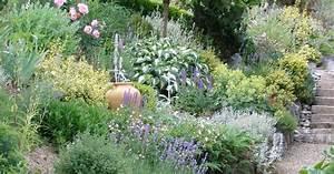 Böschung Bepflanzen Fotos : hanggarten planen anlegen und tipps mein sch ner garten ~ Orissabook.com Haus und Dekorationen