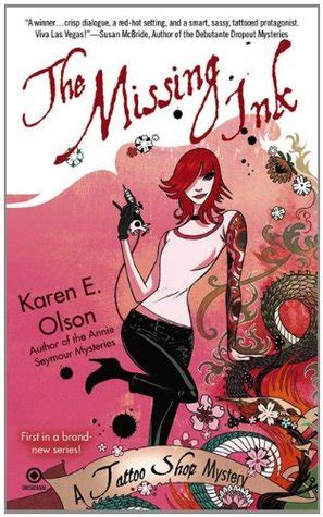 missing ink tattoo shop mystery   karen  olson