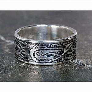 viking wolf ring sterling silver viking ring celtic man With wolf wedding rings