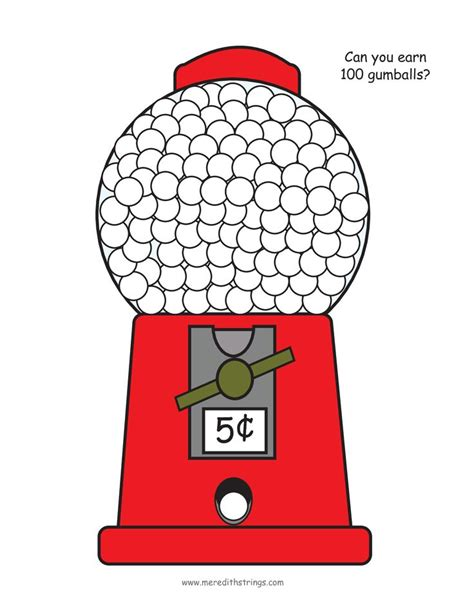 gumball machine template scope of work template book design 4 colors gumball image search and charts