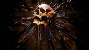 Dark skull evil horror skulls art artwork skeleton d ...