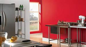 Red kitchen walls with dark cabinets home depot exterior for Kitchen cabinets lowes with red rose wall art