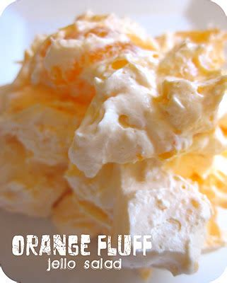 orange fluff jello salad recipe keeprecipes