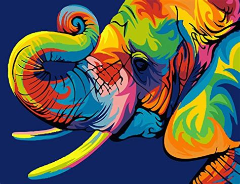 Elephant Paint By Number Sets