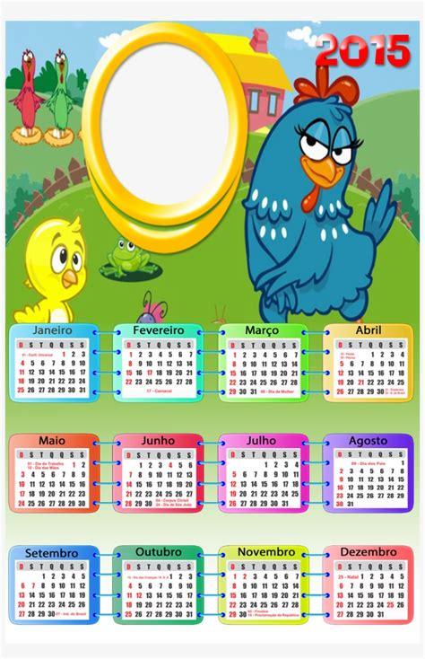 Moldura Galinha Pintadinha 2015 Calendario 2019 Galinha