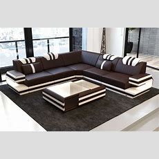 Antonio L Shape Sofa With Led Lights  Sofa Dreams