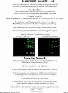 La Crosse Technology C84343 Weather Station User Manual 15