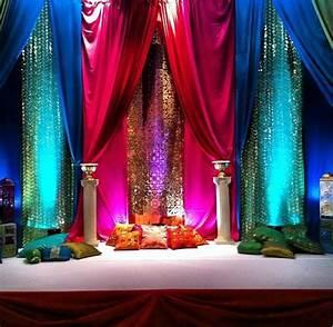 Mehndi stage ideas Wedding inspirations Pinterest