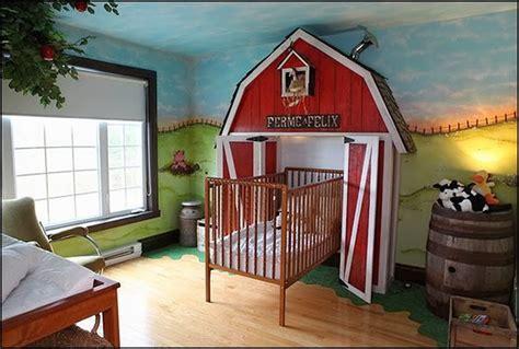 Kinderzimmer Wandgestaltung Bauernhof by Decorating Theme Bedrooms Maries Manor Deere