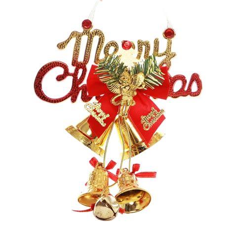 christmas tree decoration merry christmas bowknot bells