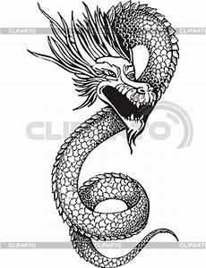 Drachen Schwarz Weiß : drachen serie von den bildern cliparto ~ Orissabook.com Haus und Dekorationen