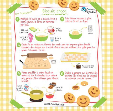 3 recette cuisine recette biscuits maison au chocolat recettes enfant