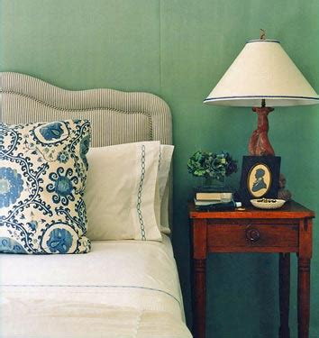 chain link sheets cottage bedroom farrow ball blue