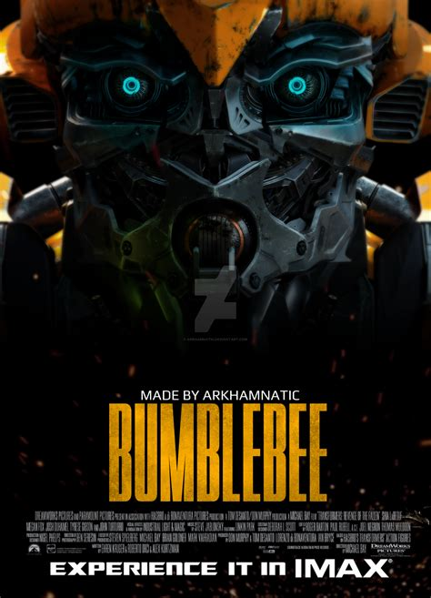 Transformers Universe Bumblebee Movie Poster By