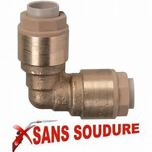 Soudure Tuyau Cuivre : raccord plomberie cuivre sans soudure raccord m le push ~ Premium-room.com Idées de Décoration