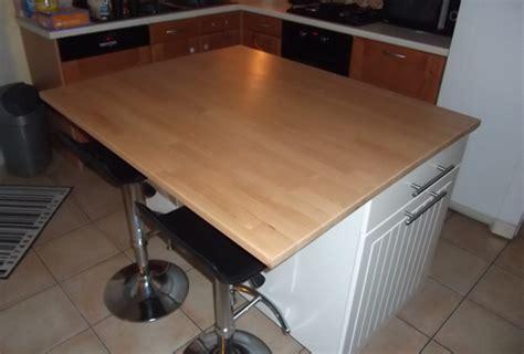 fabriquer un ilot central cuisine fabriquer ilot central table de cuisine
