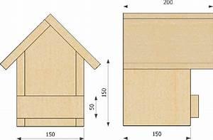 Plan Nichoir Oiseaux : plan de nichoir pour rougegorge plant de nichoire nichoir nichoir oiseau et fabriquer ~ Melissatoandfro.com Idées de Décoration