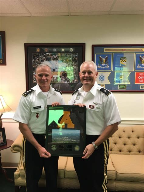 app state rotc alumni named director   military