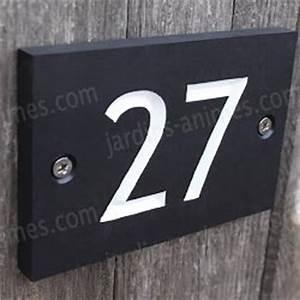Plaque Numero Maison Personnalisé : plaque de maison et num ro de rue pancarte et signal tique ~ Melissatoandfro.com Idées de Décoration