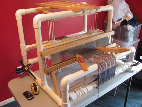 pvc loom start weaving loom plans